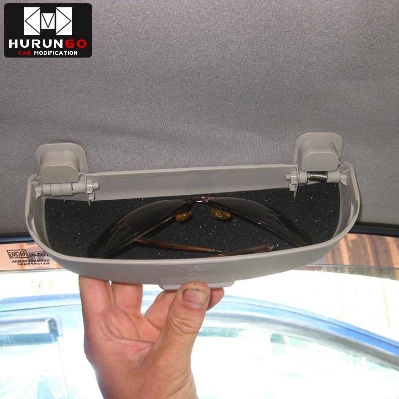 Auto Styling Zonnebril Houder Doos Glazen Opbergdoos Case Auto Accessoires Voor Peugeot 206 207 307 308 408 508 2008 301 3008