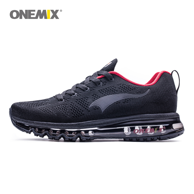 ONEMIX Men Running Shoes For Women Nice Zapatillas Athletic Trainers Black Sports Air Cushion Outdoor Jogging Walking Sneakers man running shoes for men air sole athletic trainers zapatillas gray fitness sports sneakers basketball outdoor walking footwear