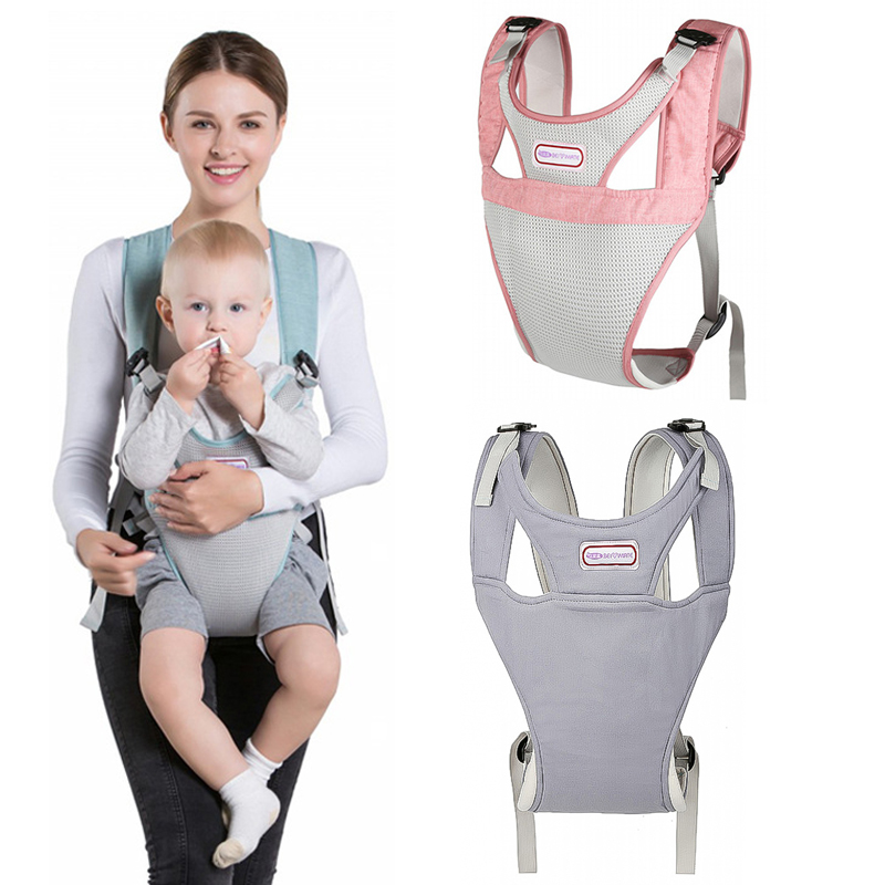 Breathable Mesh Design 3-36M Ergonomic Baby Carriers Backpack Portable Baby Sling Wrap Cotton  Infant Newborn Kangaroo Bag(China)