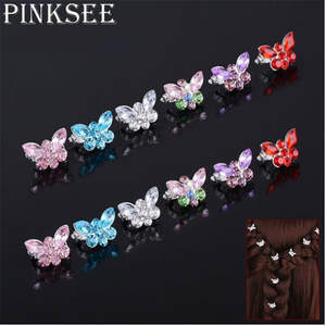 Pinksee 10Pcs Set Bridal Hairpins Wedding Hair Accessories 0803fdaf019d