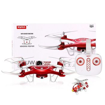 DRONE RC Quadcopter NEW SYMA X5UW with WIFI Camera FPV Professional Quadrocopter 720P Real-time Transmission RC Helicopter