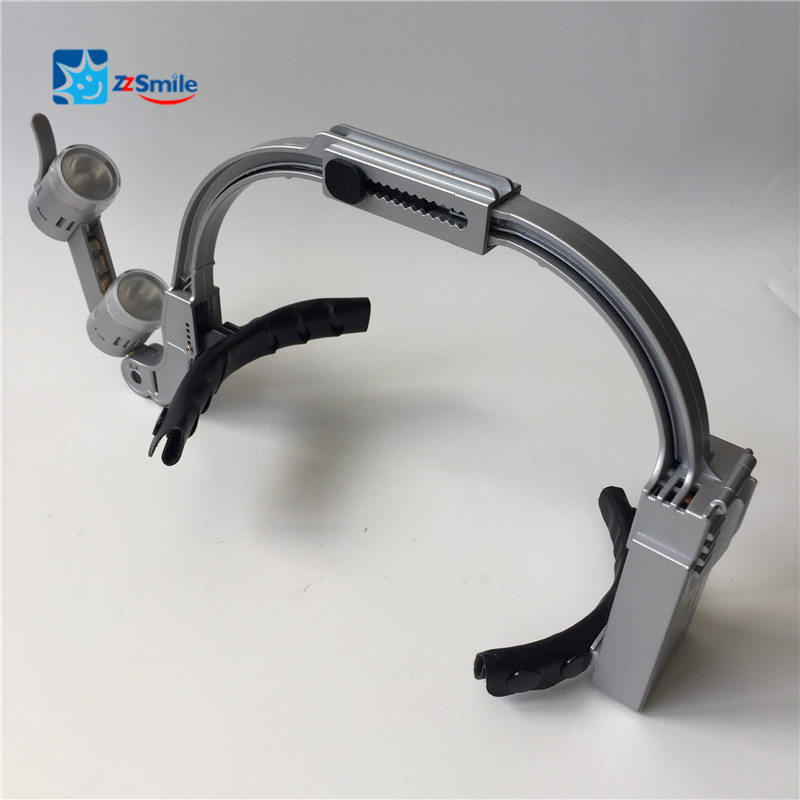 CE Approved Dental Chargeable Surgical Loupes 3.5X To 5.0X / LED Headlight / 1.5X Glasses