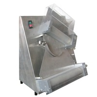 12 / 15 Inch Stainless Steel Pizza Dough Roller Making Machine Dough Roller Rolling Sheeter Machine
