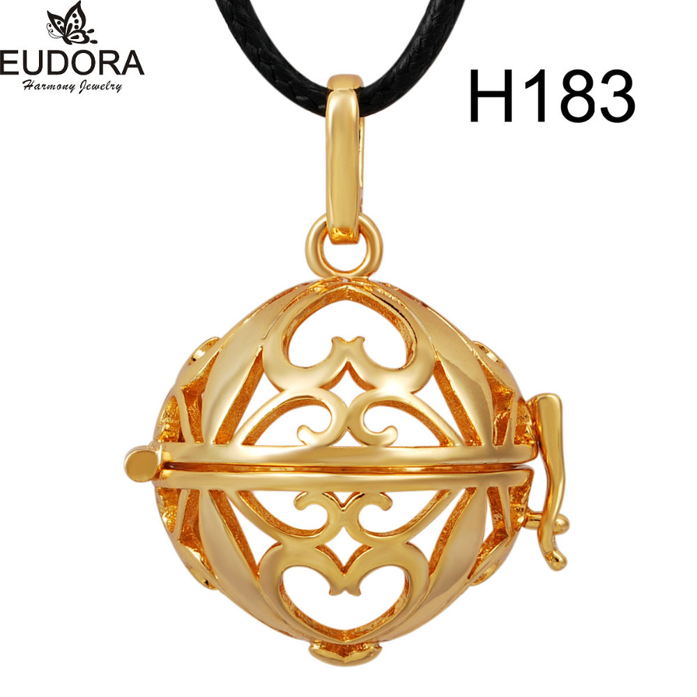 Wholesale gold color cage locket pendant fit mexican bola eudora wholesale gold color cage locket pendant fit mexican bola eudora harmony ball pregnancy chime belly angel caller 161820mm in pendants from jewelry aloadofball Gallery