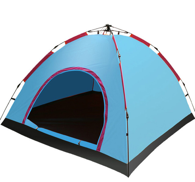 Top Brand Quality Outdoor 3-4 persons Quick Automatic Opening camping tent  Fishing Hunting Adventure Picnic Prerequisites