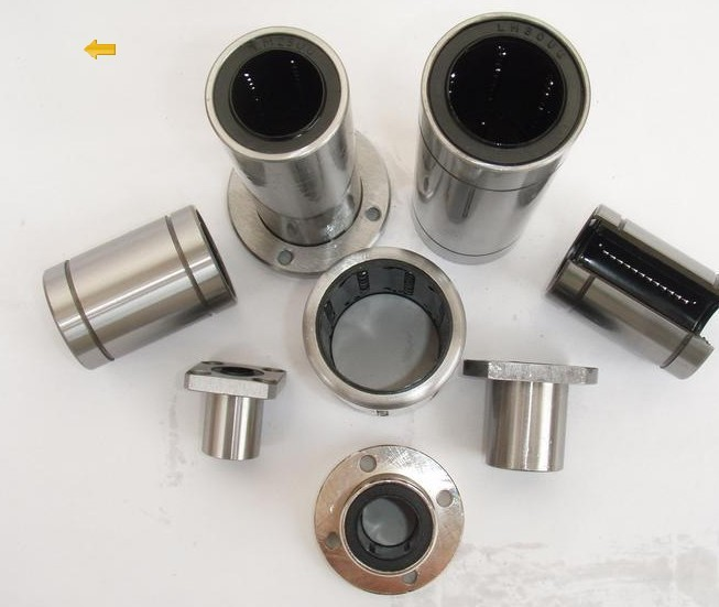 cost performance  LM50UU Linear Bearing size 50*80*100 Bush Bushing Linear Motion bearing 1pc scv40 scv40uu sc40vuu 40mm linear bearing bush bushing sc40vuu with lm40uu bearing inside for cnc