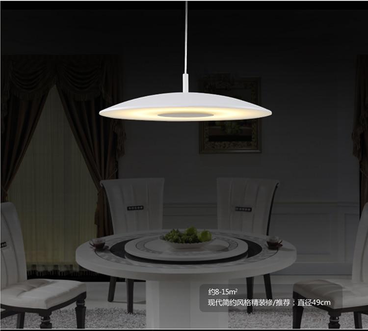 aliexpress koop nieuwe 49 cm led eetkamer hanglamp moderne