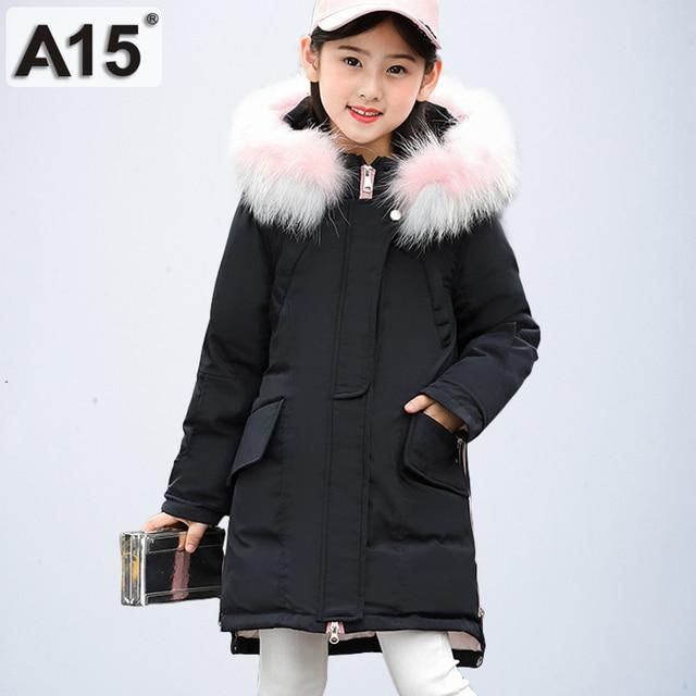 52671459148a Kids Winter Jacket Girls Winter Coats Black Children Winter Jacket ...