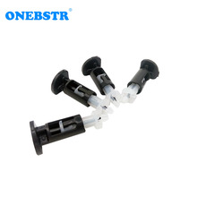 4Pcs/lot LGA 775/1156 CPU Heatsink Fastener Plastic Push Buckle PC Cooler Cooling Fan for In tel Mount Pin foot