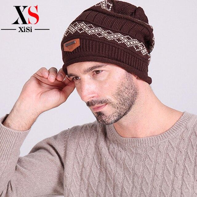 5f3cead1 2018 Winter Beanies Solid Color Hat Unisex Plain Warm Soft Beanie Skull  Knit Cap Hats Knitted Touca Gorro Caps For Men Women-in Skullies & Beanies  ...
