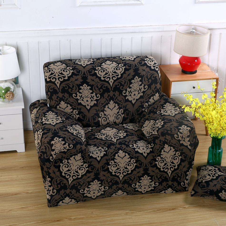 Cheap universal stretch sofa cover for living room multi - What size couch for my living room ...