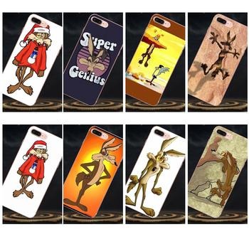 Soft New Style Wile E Coyote For Huawei Honor 4C 5A 5C 5X 6 6C 6A 6X 7 7X 8 9 V8 V10 Y3II Y5II Y6II G8 P7 Play Lite image
