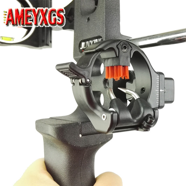 Archery Arrow Rest Micro Adjustable Capture Brush Right Hand Arrow Rest Hunter Compound Bow Hunting Shooting Accessories