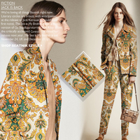 Dyeing And Printing Fabric Material Autumn And Winter Crisp Dress Jacket DIY Fabrics Wholesale High Quality