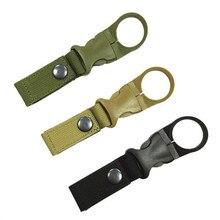 Инструменты для активного отдыха, Походные Военные нейлоновые ремни, пряжка, крючок, держатель для бутылки с водой, зажим, карабин для альпинизма, ремень, рюкзак, вешалка, крючки