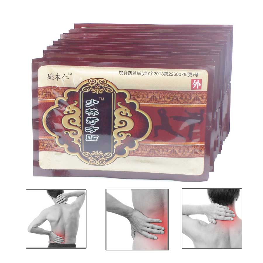 128Pcs/16Bags Health Care Massage Patch Pain Relief Muscular Pain Back Body Neck Shoulder Ache Relief C502