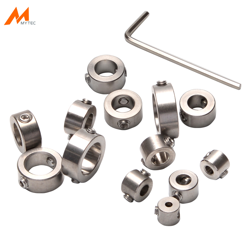 Woodworking Drill Stop Collar Set 3mm-16mm Drilling Bit Depth Stopper Ring Stainless Steel High Quality