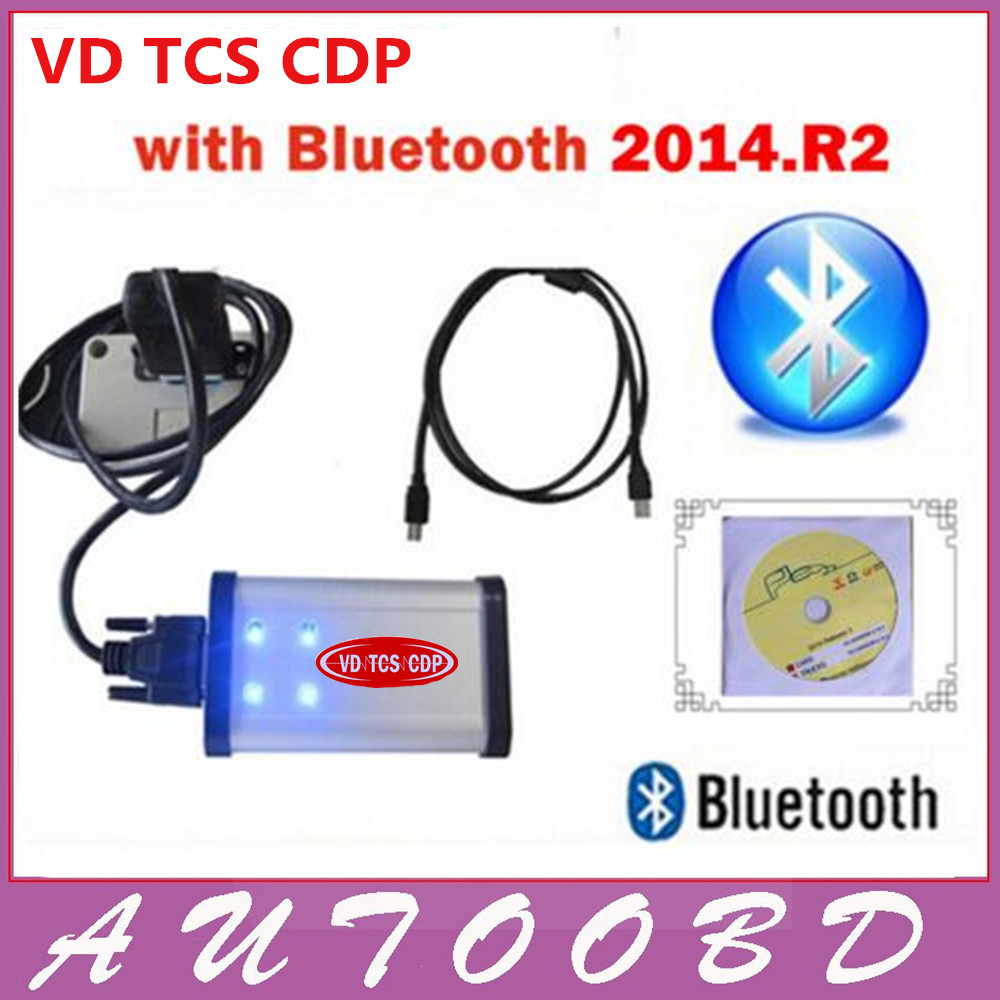 2014 2 R2 CD free activate with LED TCS CDP PRO Bluetooth for CARs TRUCKs with