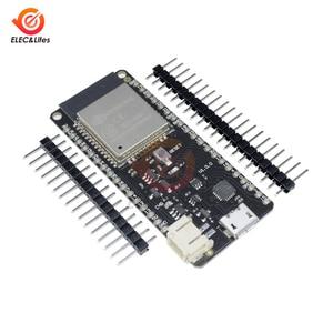 Image 3 - WeMos Mini D1 LOLIN32 ESP32 ESP 32 ESP 32S ESP32S Wifi Bluetooth 무선 모듈 기반 ESP WROOM 32 듀얼 코어 CPU 4MB 플래시
