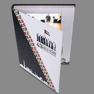 Image 4 - العرف غلاف فني 7 بوصة شاشة كتيب العالمي بطاقات المعايدة الفيديو تصميم الأزياء بطاقات الإعلان الفيديو