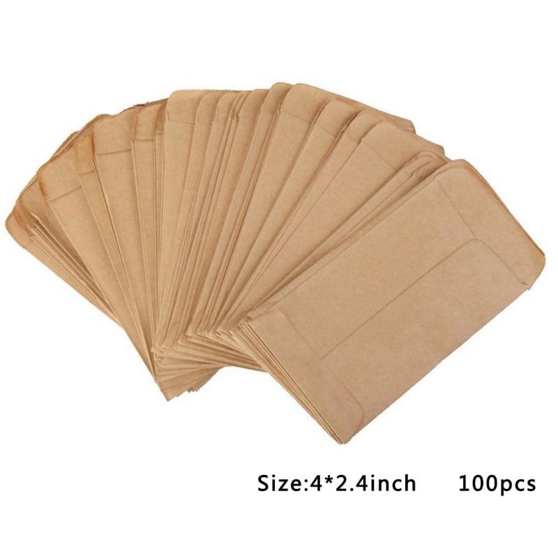 Mini Kraft Paper Bags 2 Packs of 100