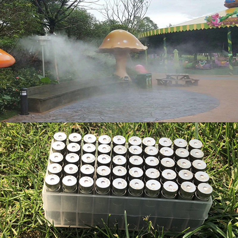 6m Misting Fogging Cooling System Outdoor Garden Mist Nozzle Pressure Humidifier