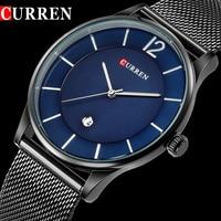 2018 CURREN Men Watches Top Brand Luxury Men S Quartz Watch Man Fashion Clock Male Stainless