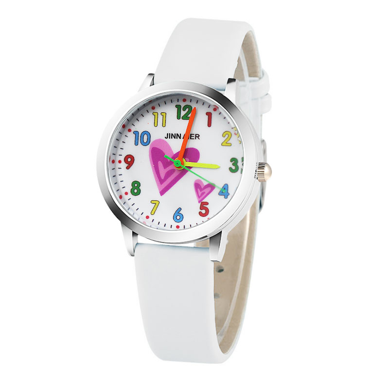 цены Relojes Mujer Cartoon love pattern Fashion 3D Child Watch Silicon Cartoon Kids Sport Watch Boy quartz watch Relogios feminino