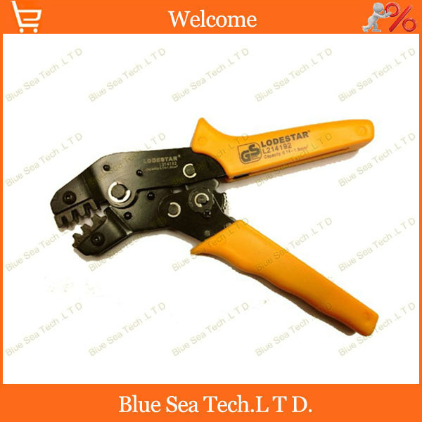 Crimping Tools Terminal crimping pliers For 24-14 AWG ,0.5-1.5mm2 of Insulated Terminals &HID Connector Free Shipping terminal wire crimping tools for deutsch terminals connector crimping wire cable for 20 12 awg 0 5 1 5mm2