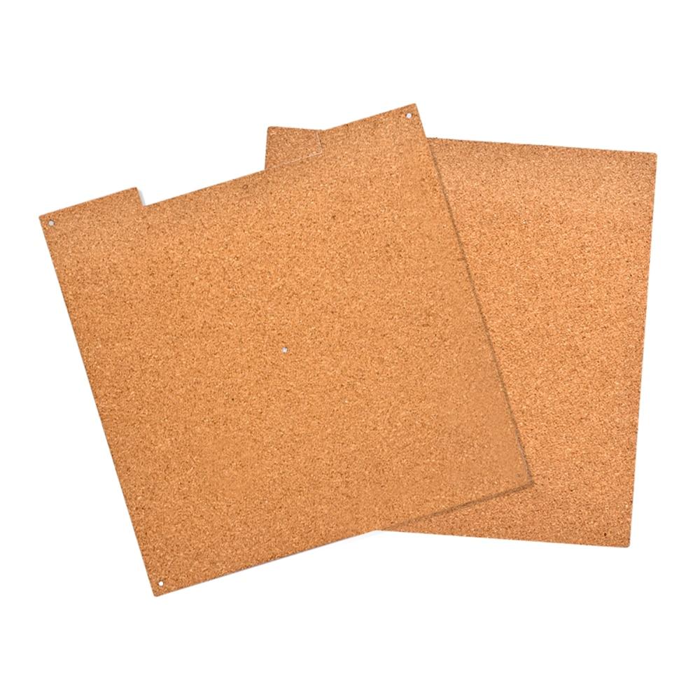 купить 3D Printer parts Heat Bed Cotton 220*220*3mm Hotbed Thermal Pad Insulation Cotton With Cork Glue Reprap Ultimaker Makerbot по цене 310.07 рублей