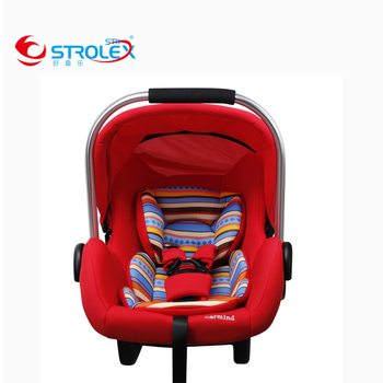 Free Shipping 0-15 Month Baby Basket Type Safety Seat Portable Safety Hand Basket Auto Chair Seat Infant Baby  Basket