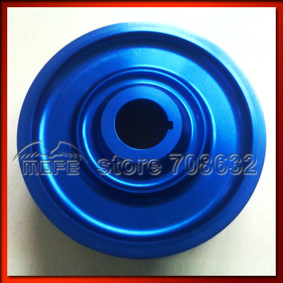 Underdrive Crank Pulley for  B16A Engine Blue|crank pulley|pulley honda|honda pulley - title=