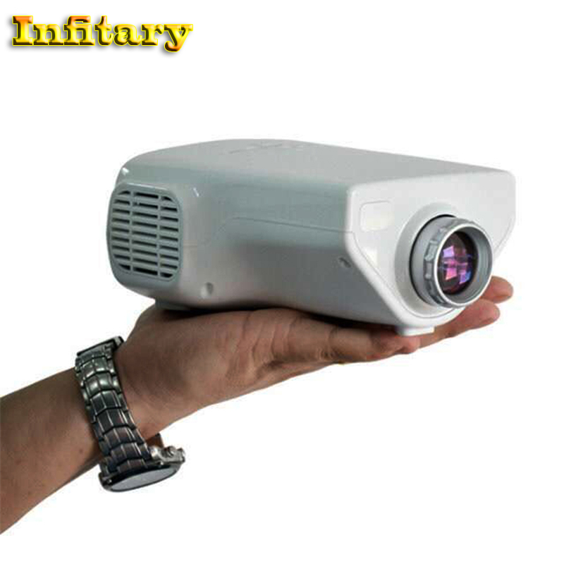 Popular E03 Tv Projector Mini Led Projector Home Theater: Portable Mini LED Video Projector E03 HD1080P Lcd Mini