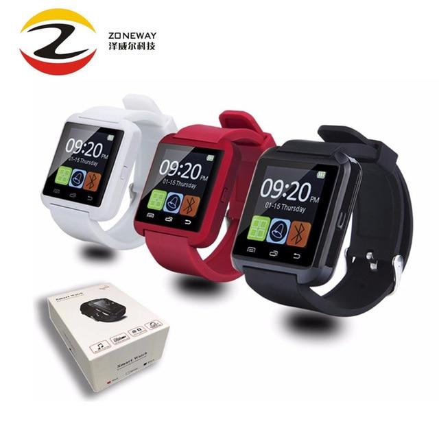 Bluetooth часы U8 Смарт часы наручные часы Smartwatch цифровые спортивные  часы для Apple IOS телефона Android caf5198710870