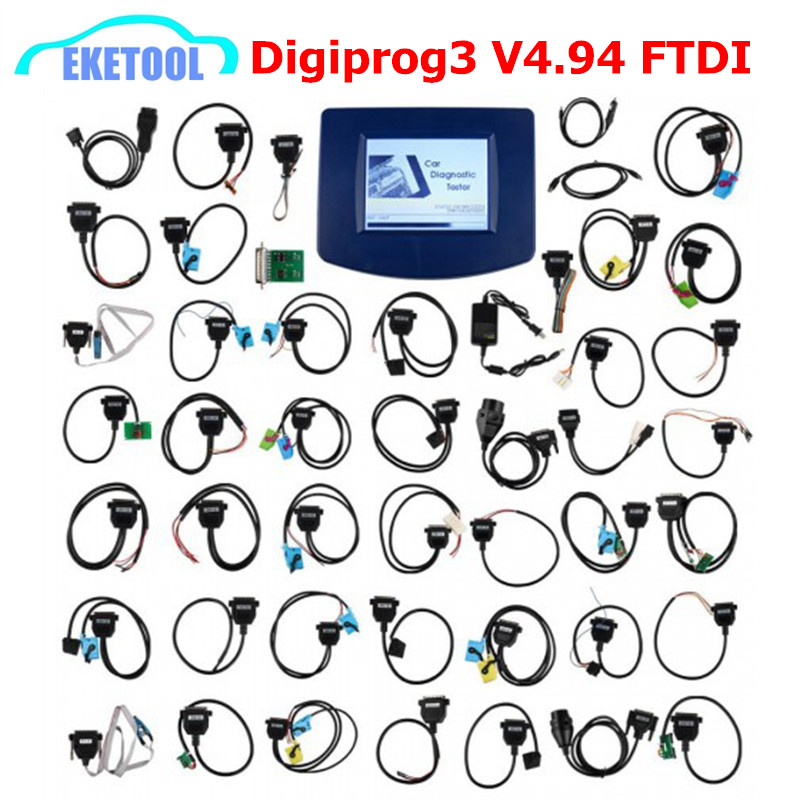 Быстрая экспресс Digiprog V4.94 OBD2 Пробег коррекции Multi-Язык Универсальный Мульти-автомобили Digiprog 3 Digiprog3 коррекции инструмента