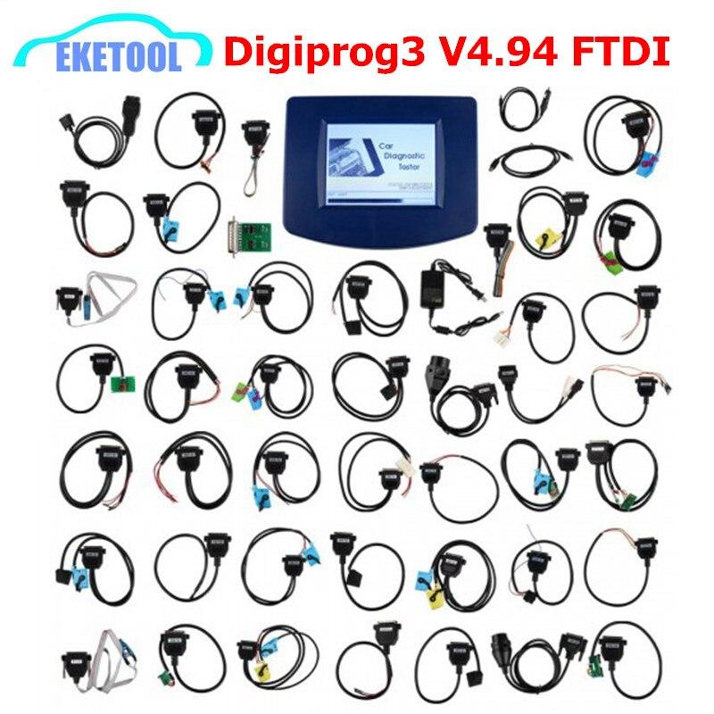 Express Fast Digiprog V4.94 OBD2 Mileage Correction Multi-Language Universal Multi-Cars Digiprog 3 Digiprog3 Correction Tool