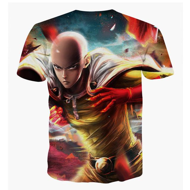 Pokemon/Deadpool 3d Printed O-Neck T Shirt