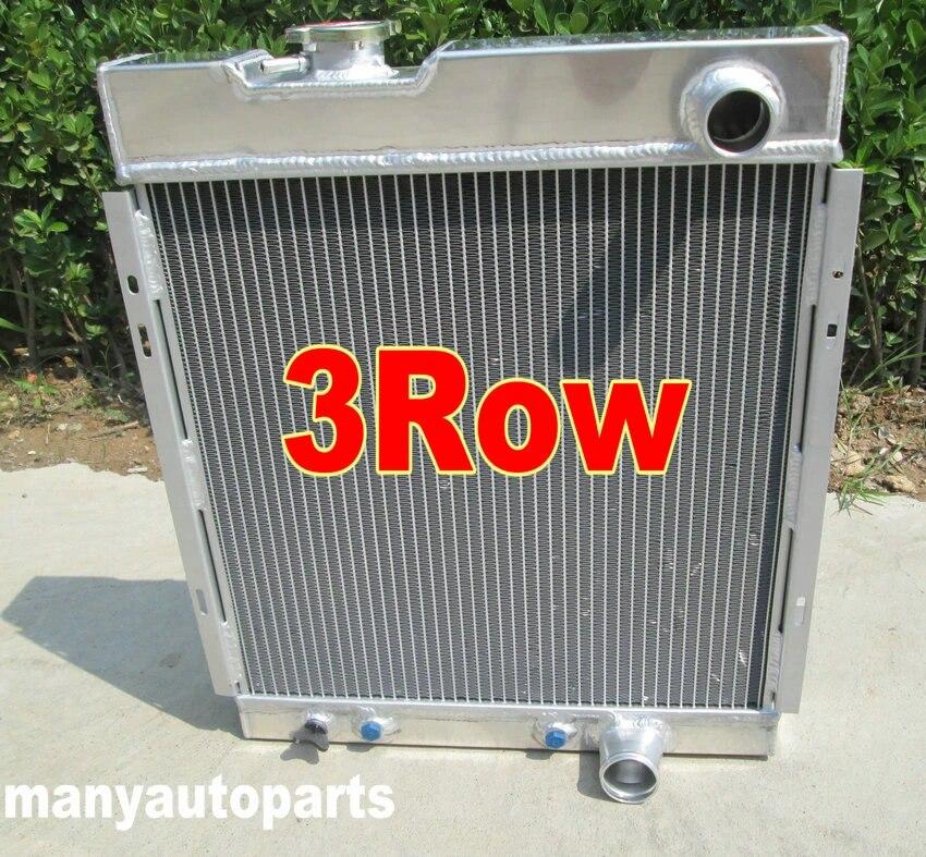 ALUMINUM RADIATOR For MUSTANG V8 289 302 WINDSOR 1964 1965 1966