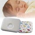 Para el bebé 30 cm * 26 cm de dibujos animados almohada bebé posicionador de látex de dibujos animados niño recién nacido almohada dormir posicionador principal para el bebé