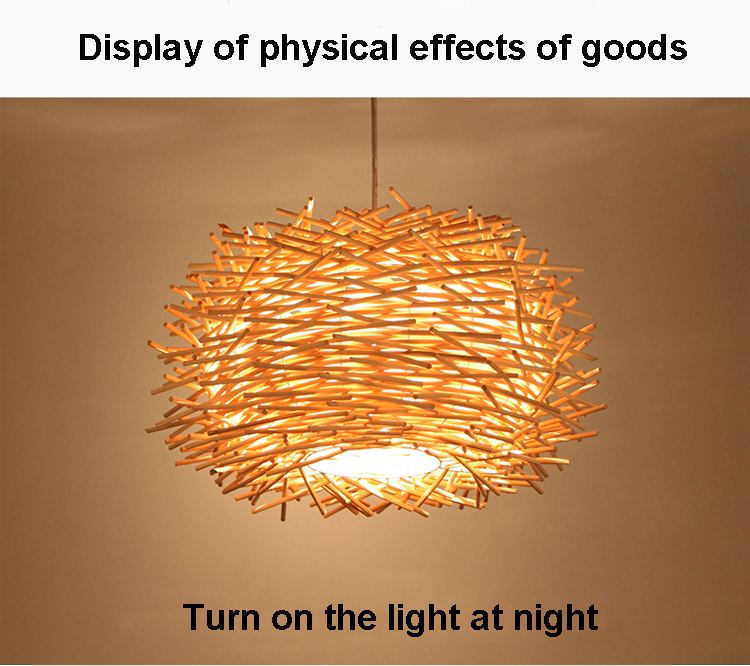 Willr Wicker Pendant Lamp Handmade