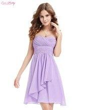 Bridemaid платья Multi цвета милая декольте без бретелек короткое свадебное 2015 Большой размер HE03540