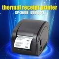 Черный usb-порт XP-360B Штрих Принтер тепловая принтер штрих-кодов термопринтер этикеток