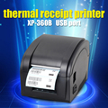 black usb port XP-360B Barcode Printer thermal barcode printer thermal label printer