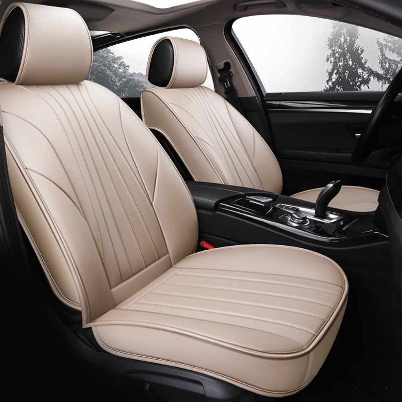 Luxury leather car styling seat cover auto seat cushion for BMW X1 X3 X4 X5 g30