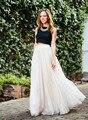 New Fashion Floor-Length Woman Tulle Skirt Ladies Vintage Maxi Skirt Female Plus Size Bolsos Saias Femininas Vestidos