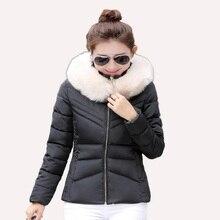 Низкая стоимость Оптовая Новый на осень-зиму Мода 2017 модная женская Повседневная, теплая куртка пальто Camperas де Mujer