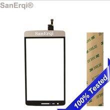 Сенсорный экран для LG G3 S Mini G3s D722 D724 D725 Передняя панель внешняя стеклянная линза Белый Серый Золотой