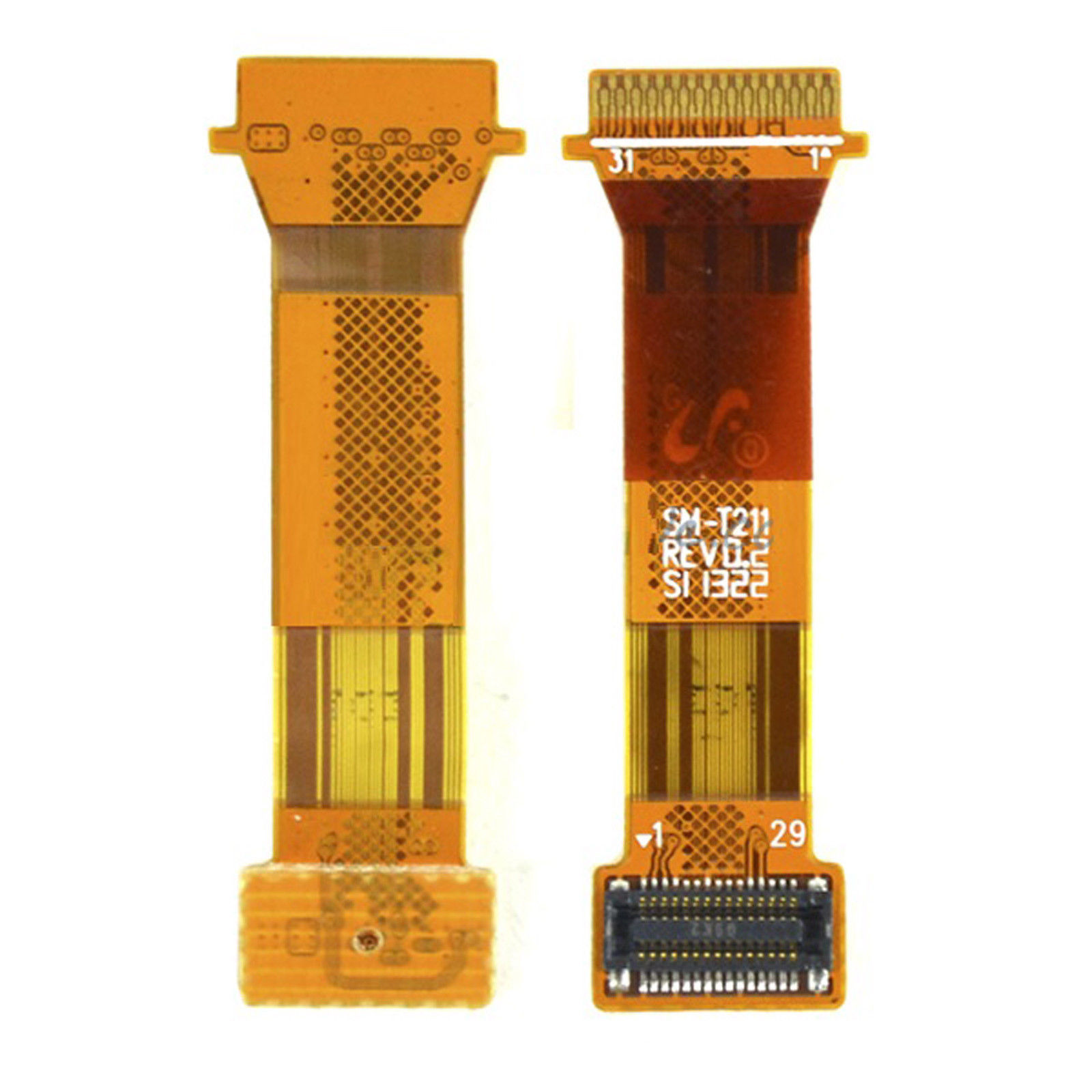 For <font><b>Samsung</b></font> Galaxy Tab 3 7.0 SM-T210 <font><b>T211</b></font> P3200 P3210 <font><b>LCD</b></font> Connection Flex Cable Ribbon Replacement image
