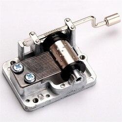 New retro diy mechanical hand crank metal music box hand cranked musical movement parts.jpg 250x250