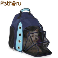 Petforu Fashion Outdoor Dog Bags Breathable Pet Cats Carrier Bag Pet Product